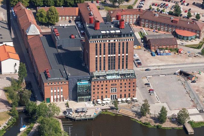 Kokpunkten och Steam Hotel
